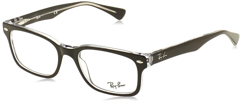 Ray-Ban Damen 5286 Brillengestelle, Schwarz (Negro), 51: Amazon.de ...