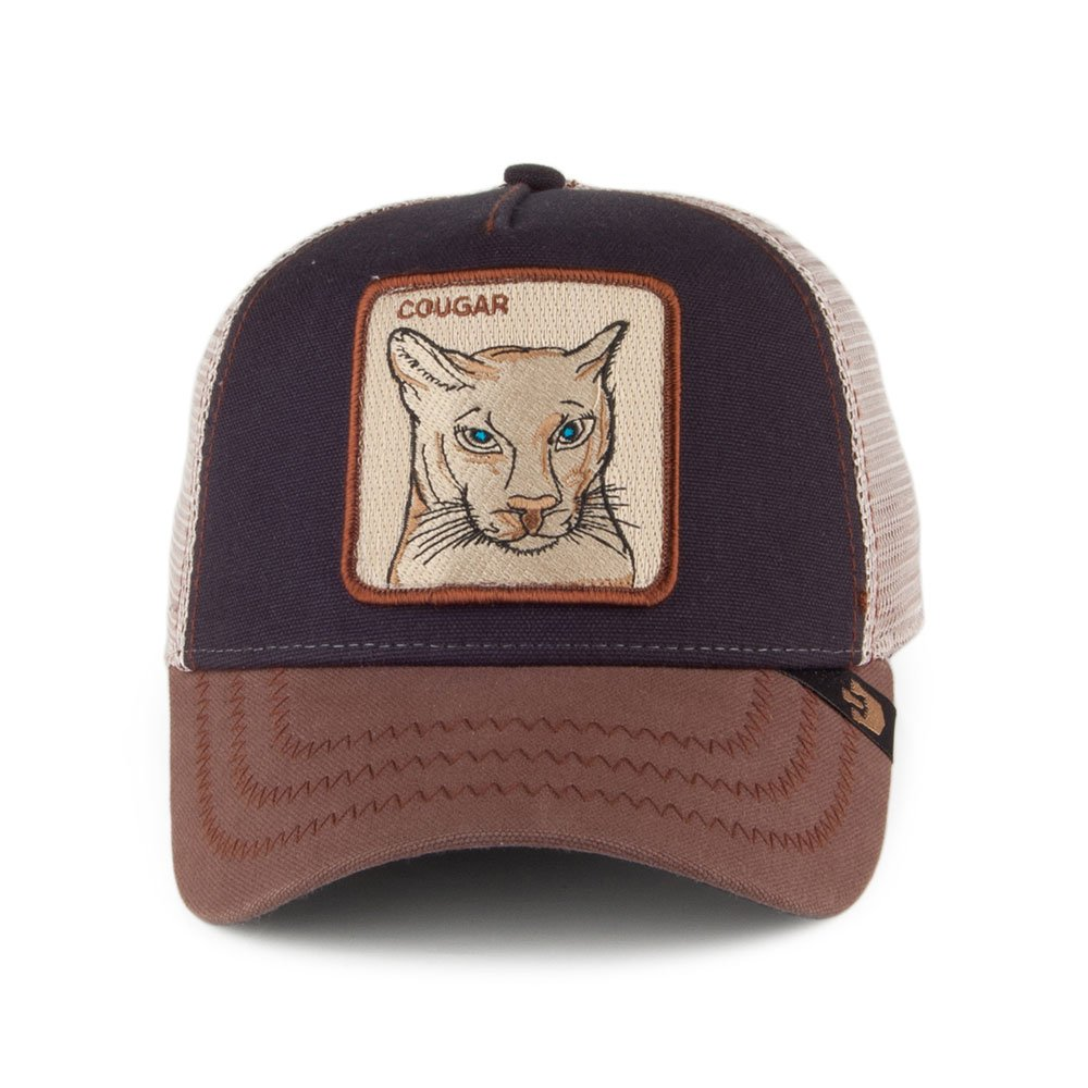 73770947 Village Hats Goorin Bros. Cougar Trucker Cap - Navy 1-Size: Amazon.co.uk:  Clothing