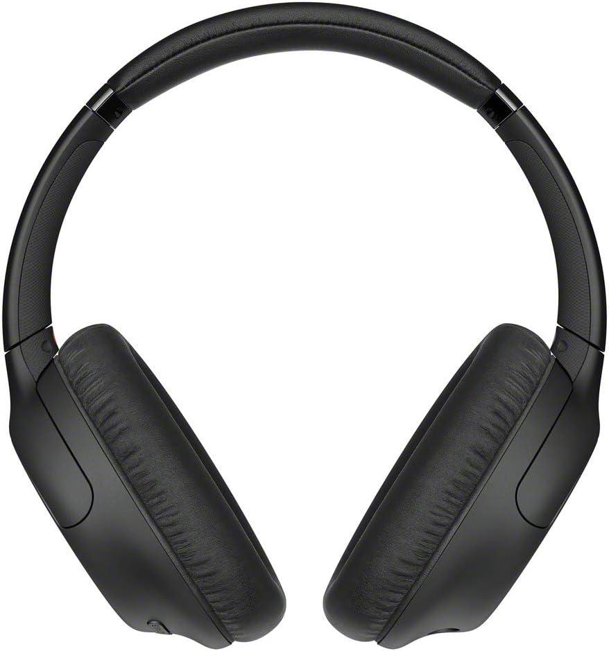 Sony WHCH710N - Auriculares inalámbricos Noise Cancelling (Batería 35 h, Carga rápida, Llamadas Manos Libres, diseño Compacto Alrededor de la Oreja, óptimo para Trabajar en casa), Negro