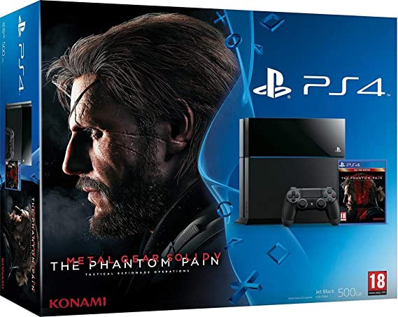 Console PS4 500 Go Noire + Metal Gear Solid V: The Phantom Pain ...
