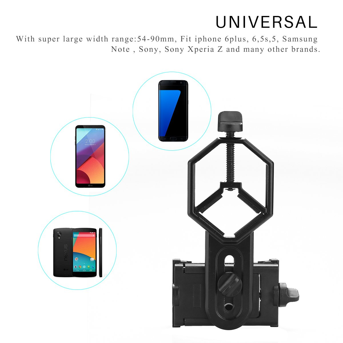 gaixample.org Universal Cellphone Telescope Adapter Mount for ...