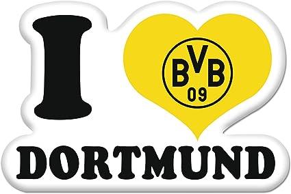 Bvb Aufkleber Sticker I Love Bvb Borussia Dortmund Bvb Amazon De Sport Freizeit