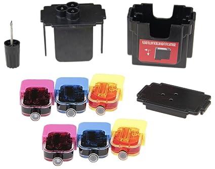 Easy de Refill Set de relleno para cartuchos HP 62 Color - Llenado ...