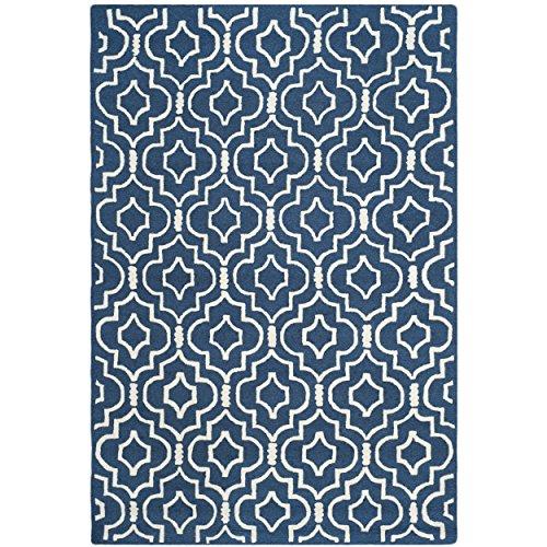 Brown And Blue Geometric Rugs Amazon Com