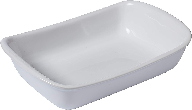Pyrex Supreme Fuente Para Horno, Blanco, 33X23Cm