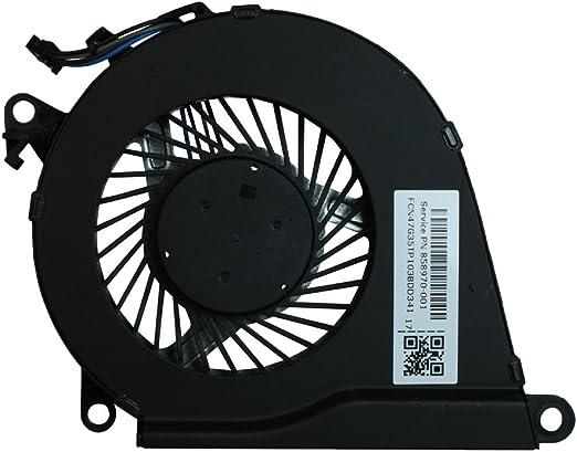 Power4Laptops Ventilador para Ordenadores portátiles Compatible con HP 858970-001: Amazon.es: Electrónica