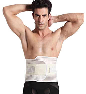 66142ab4a24 ... Waist Trimmer Weight Loss Back Zhiyuanan Men Removable Multifunction Waist  Trimmer Weight Loss Back Support Beer Belly Remove Compression Tummy Band  ...