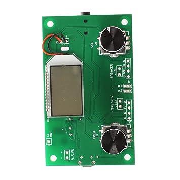 Digital 87-108MHz FM Radio transmisor receptor estéreo PLL DSP /& Control De Serie