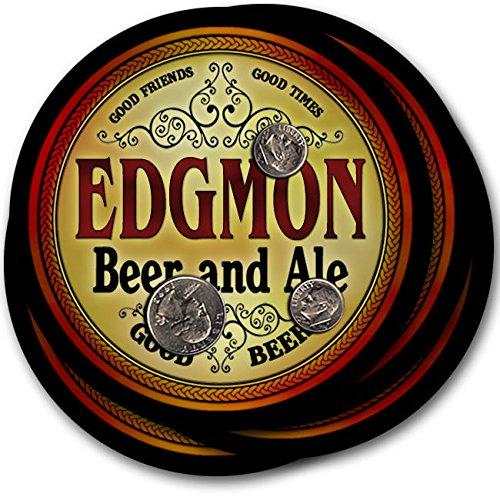 EDGMONビール& Ale – 4パックドリンクコースター   B003QXIYU6