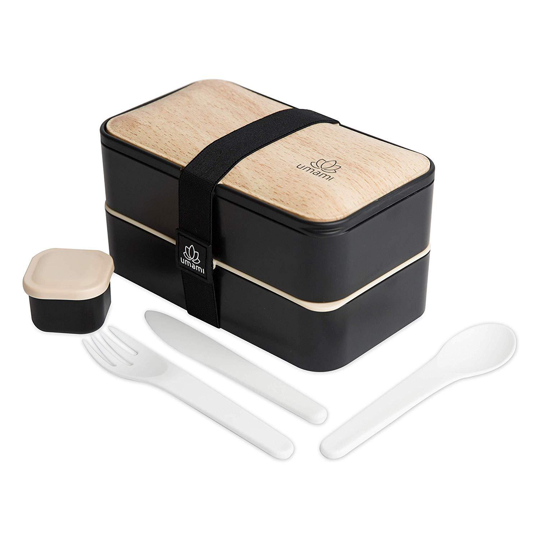 Caja de bambú de Umami