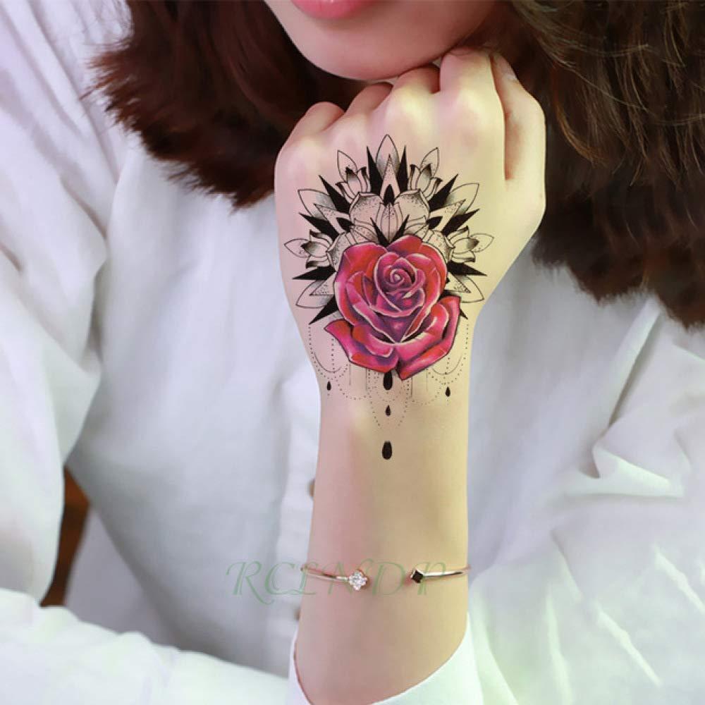 ljmljm 4 Piezas Impermeable Tatuaje Pegatina Dibujos Animados ...
