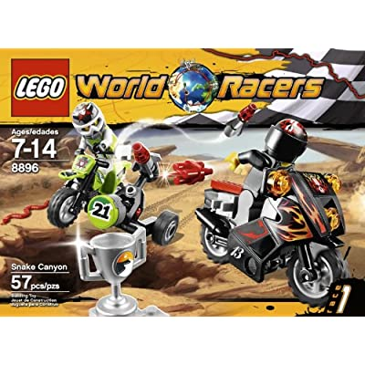 LEGO World Racers Snake Canyon 8896: Toys & Games