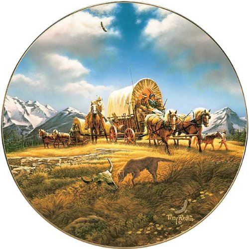 O Beautiful For Spacious Skies Collector Plate by Terry Redlin
