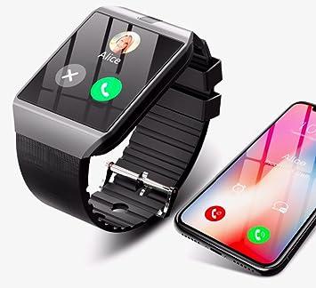 Boutique Connectée Montre Connectée pour Smartphone Android Apple iOS Windows Bluetooth 4.2 Langue Français Slot Carte SIM Carte SD Contrôle Musique