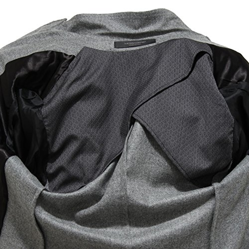 Giacche Mohair Men Uomo Grigio Giacca Messagerie Coats Jackets 7422l ZqxOItnff
