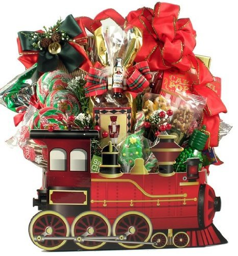 Gift Basket Village Holiday Express Christmas Gift Basket, 8 Pound]()