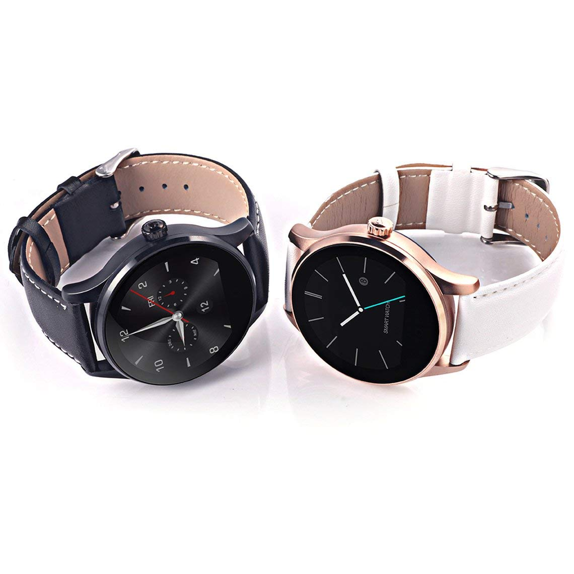 Zinniaya K88H 4.0 Smart Watch Classic Health Metal ...