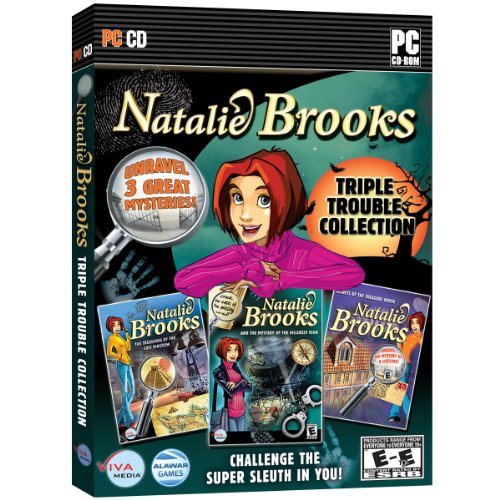 Natalie Brooks: Triple Trouble Collection - 3 Complete Mysteries to - Collection Natalie