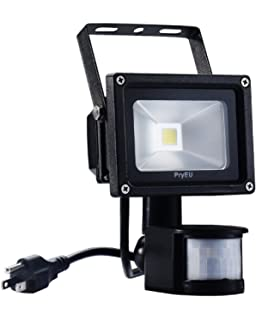 New design zhma 12v 10w motion sensor flood light outdoor led pryeu led motion pir sensor flood light outdoor security spotlight 10w us plug in and super mozeypictures Image collections