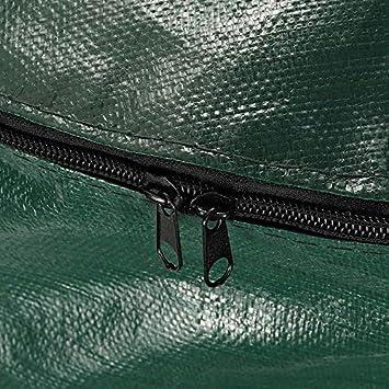 Gaoominy 2 Pi/èCes 80L D/éChets Organiques Cuisine Jardin Jardin Compost Sac Portable Environnemental PE Planteur de Tissu 45 X 80 CM