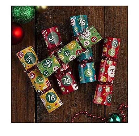 Mini bingo christmas crackers amazon kitchen home mini bingo christmas crackers solutioingenieria Image collections