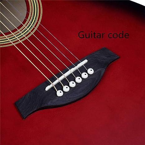 Guitarra de 40 \, ángulo de bala, picea, mate, portátil, diapasón ...