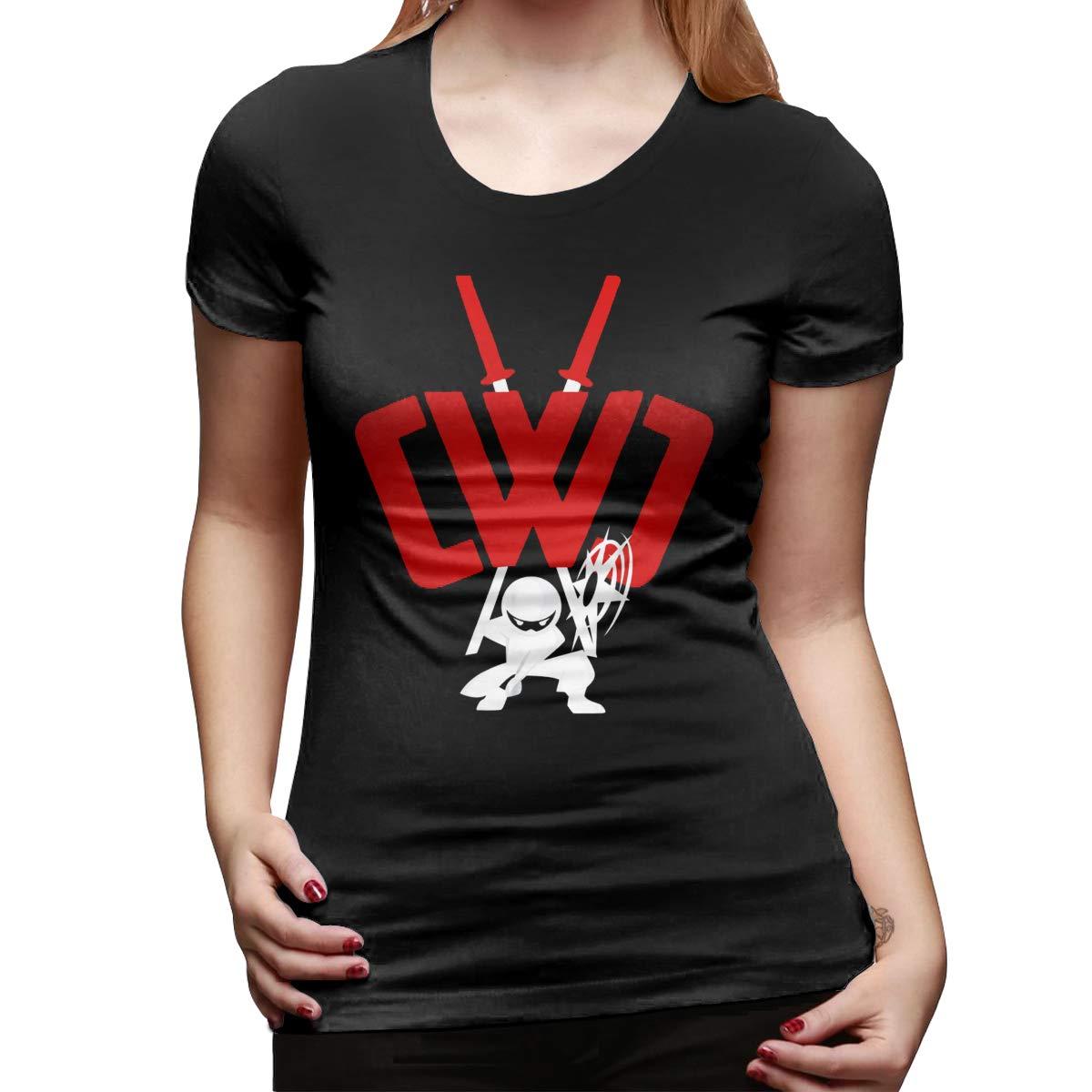 CWC Chad Wild Clay Ninja Classic Fashion Women Tshirt Best ...