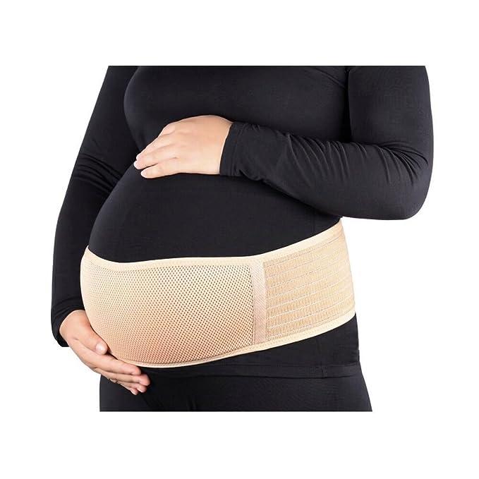2a64259ae Fajas de Embarazo Premamá Transpirable Cómodo Cinturón del Vientre para  mujer  Amazon.es  Ropa y accesorios