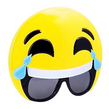 Lunettes De Soleil Emoji Mort De Rire Adulte Amazonfr Jeux Et