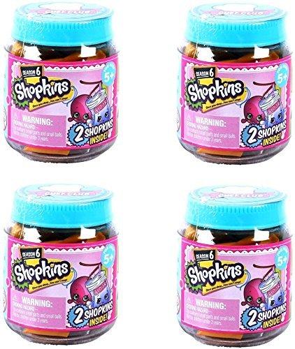 - Shopkins Chef Club Season 6 Jars - Set of 4