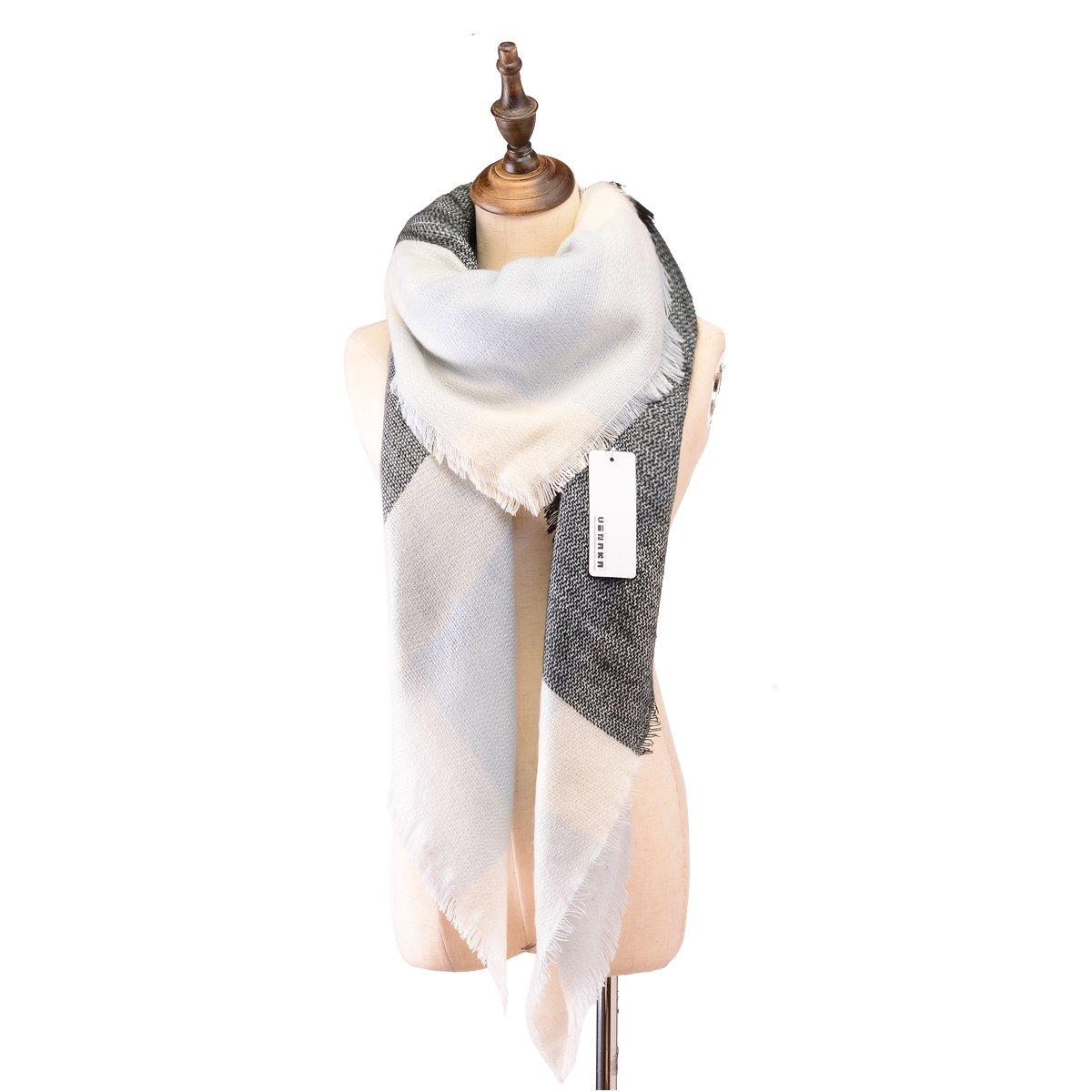 Vinaka ACCESSORY レディース B017CTLAIC Grey White Grey White
