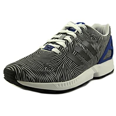 5fabc12953b79 ... where can i buy adidas mens zx flux originals running shoe clear onix  grey black 10.5