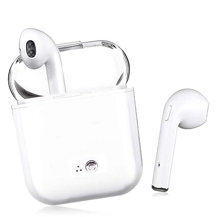 Auriculares Bluetooth, Auriculares Mini True Auriculares estéreo Auriculares Internos Inalámbricos con Caja de Carga para