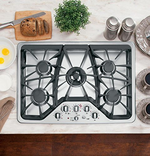 GE CGP350SETSS Stainless Sealed Cooktop