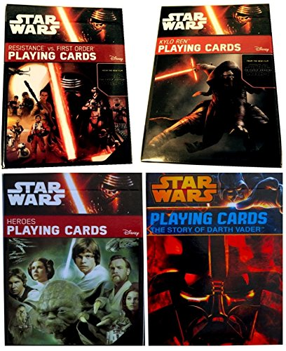 rds Bundle of (4) Limited Edition Sets! The Story of Darth Vader, Heroes, Kylo Ren & Resistance vs First Order ()