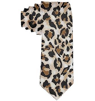 Corbata Para Hombre Corbata,Estampado De Leopardo Para Hombre ...
