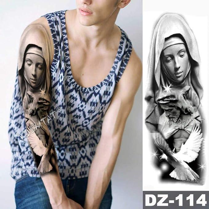 Modeganqing Conjunto de 3 Piezas de Tatuaje Impermeable con alas ...