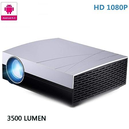 AINGOL Micro-Porción 1080P Proyector LED 3500 lúmenes Multimedia ...