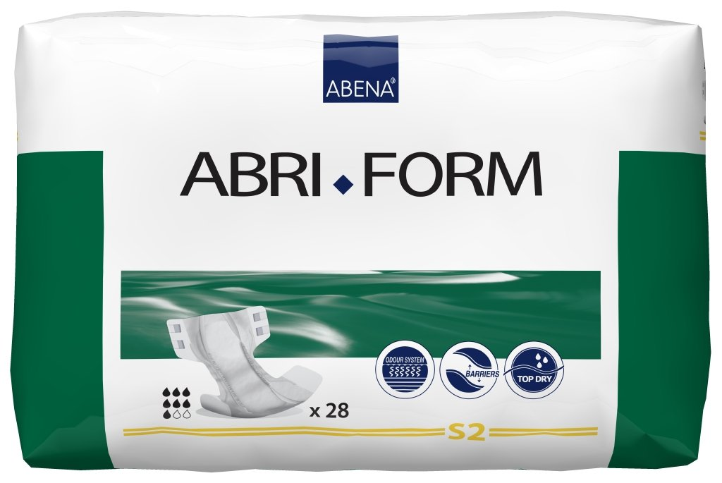 ABENA Abri Form - Pañales para adultos (talla S súper): Amazon.es: Salud y cuidado personal