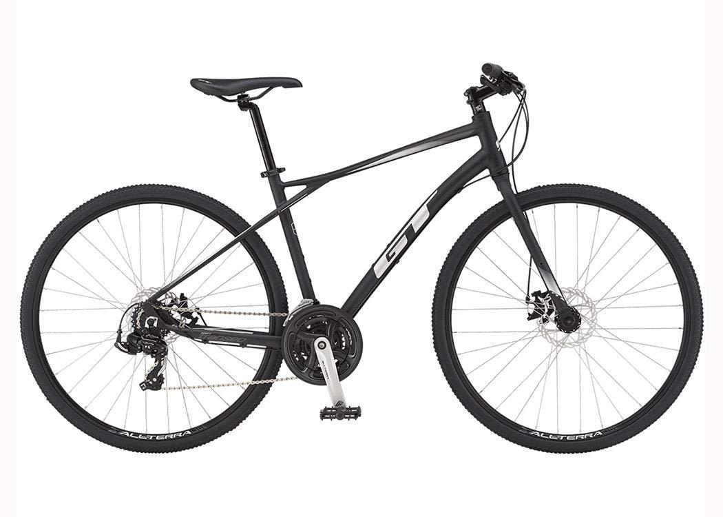 GT(ジーティー) トランセオ スポーツ(3x7s) クロスバイク700C [ブラック] X-Small  B07KQRW2VD