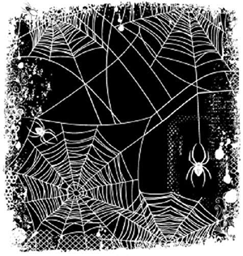 ShopForAllYou Stamping & Embossing Rubber Cling Stamp Spider