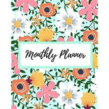 Monthly Planner: Calendar Schedule Organizer Notebook Bank 2017-2018
