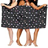 Spaceships Solar System Planet Printing Sports Beach Towels