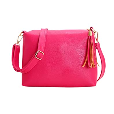 Fashion Women Tassel Leather Bag Crossbody Shoulder Messenger Bags womens handbags totes shoulder bags bolsos mujer