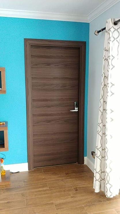 Beau Amazon.com: Panel Solid Door Slab 32 X 80 Inches   Planum 0010 Chocolate  Ash   Flush Wood Core Modern Design   Use As Pocket Barn Sliding Doors:  Home ...