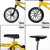VANKERTER 6 Pcs Mini Finger Mountain Bikes with