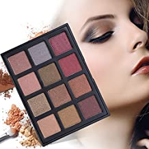 DONGXIUB Smoky Eyes 12 Warm Color Eyeshadow Palette Shimmer Matte Vegan Eye Shadow Makeup Set S