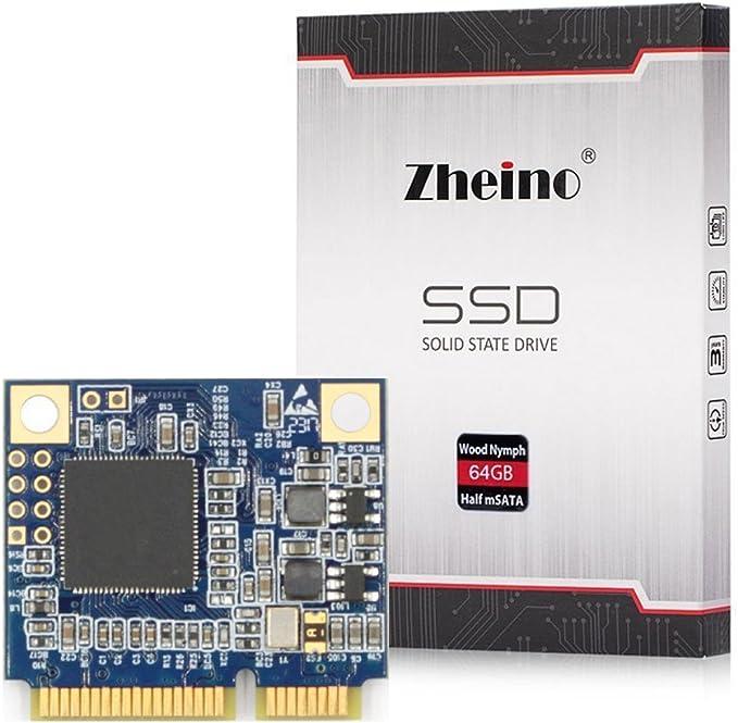 Zheino Half Size mSATA 64gb SSD Tamaño medio mSATA SSD Half Msata ...