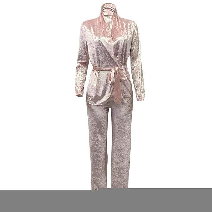 Amazon.com: Conjunto de 2 trajes sexy de terciopelo para ...