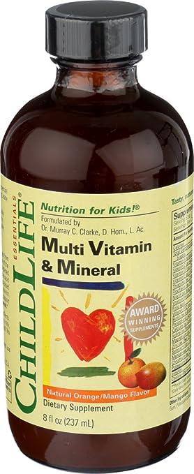 Niño Vida Multi vitamina y mineral, 8-Ounce: Amazon.es: Salud y cuidado personal